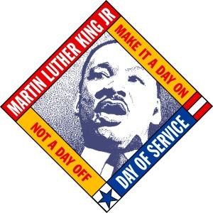 mlk day of service emblem