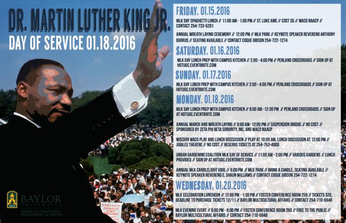 2016 MLK Day Poster